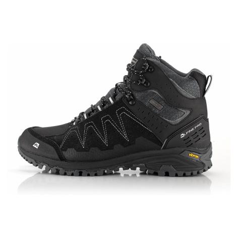 Outdoorová kotníková obuv Alpine Pro BUTTE - černá