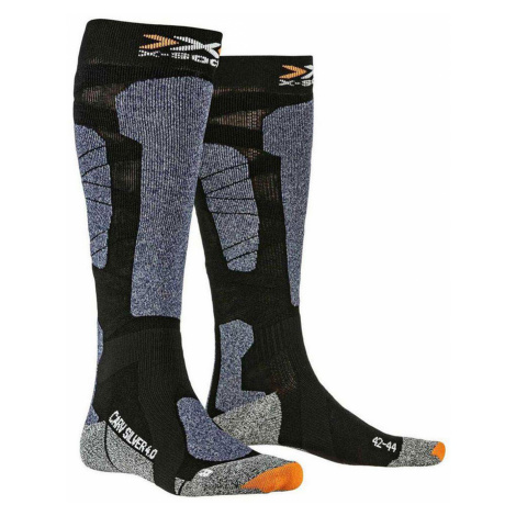 Ponožky X-Socks CARVE SILVER 4.0 modrá černá