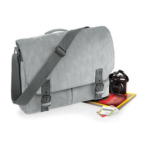 Retro Messenger taška - šedá