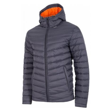 4F MEN´S JACKET tmavě šedá - Pánská bunda