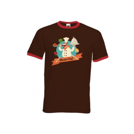 Pánské tričko s kontrastními lemy Master Chef