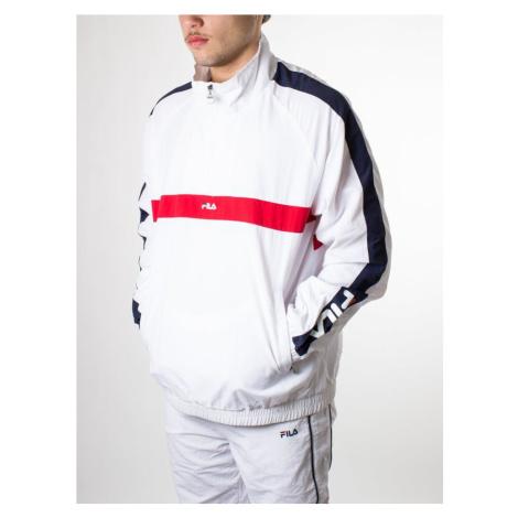 FILA FILA pánská bílá sportovní bunda JONA