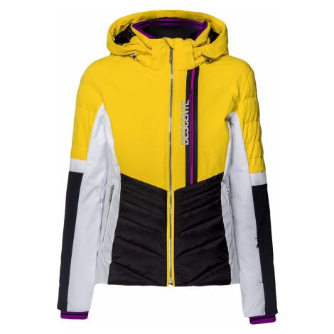 Lyžařská bunda Descente MELINA šedá|Żółty