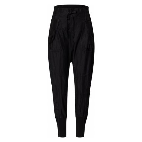 Cream Kalhoty se sklady v pase 'Nanna' černá