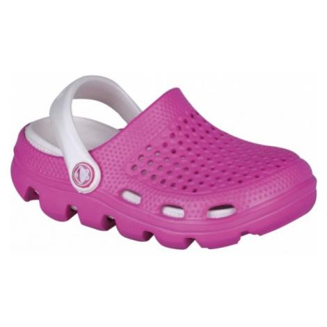 Coqui BUGY růžová - Dětské sandály