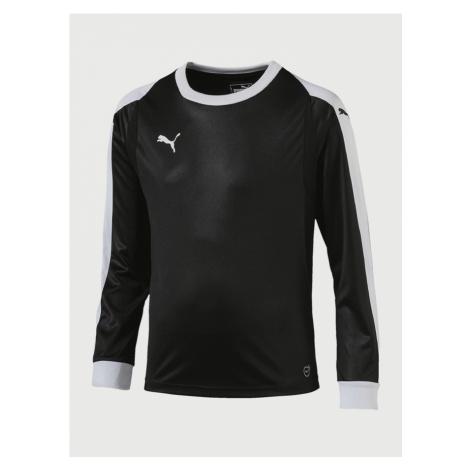 Liga Goalkeeper Jersey Triko dětské Puma Černá
