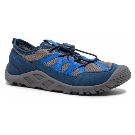 Dětská obuv do vody Merrell Hydro Lagoon Modrá / Šedá