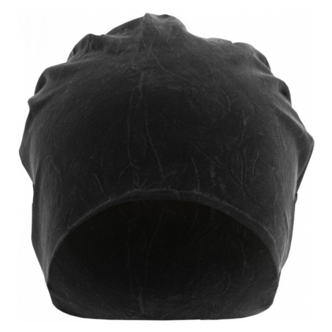 Stonewashed Jersey Beanie - black Urban Classics