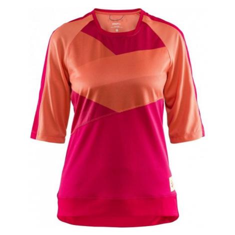 Craft HALE XT W oranžová - Dámský cyklistický dres