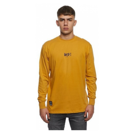 Mass Denim Longsleeve Signature Small Logo wheat