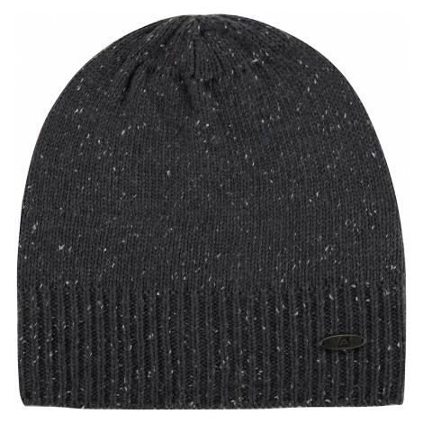 Zimní pletená čepice Alpine Pro KEPE - tmavě šedá
