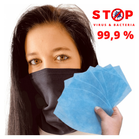 NANO šátek AG-TIVE 3F 99,9% - unisex Červená Unisex