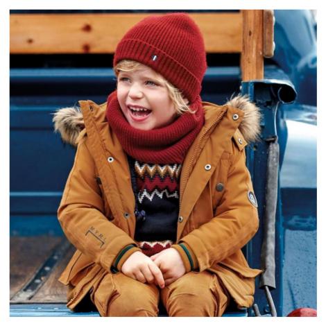 Chlapecká zimní bunda Mayoral 4444 | žlutá
