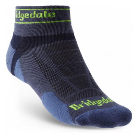 Pánské ponožky Bridgedale Trail Run UL T2 MS Low blue