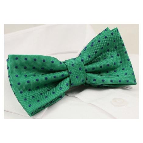 Buďchlap Zelený motýlek s puntíky