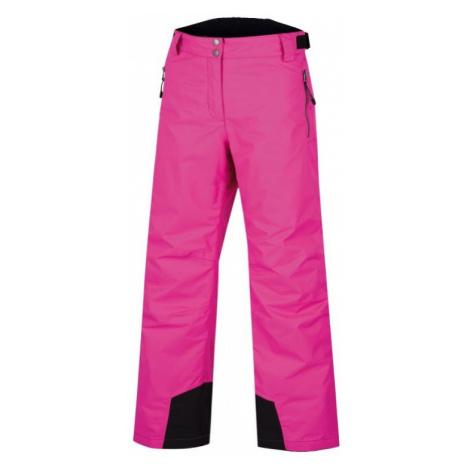 ALPINE PRO FLEMERA Dámské kalhoty LPAF089411 fuchsiová