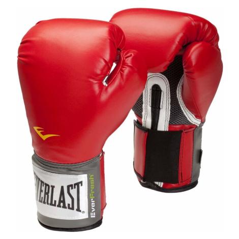 Boxerské rukavice Everlast Pro Style 2100 Training Gloves červená
