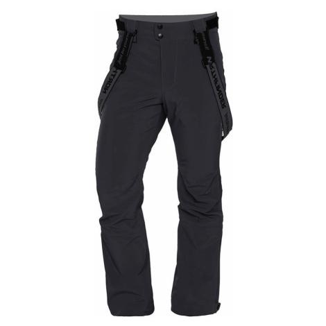 NORTHFINDER EREJ Pánské lyžařské softshellové kalhoty NO-3655SNW319 šedá
