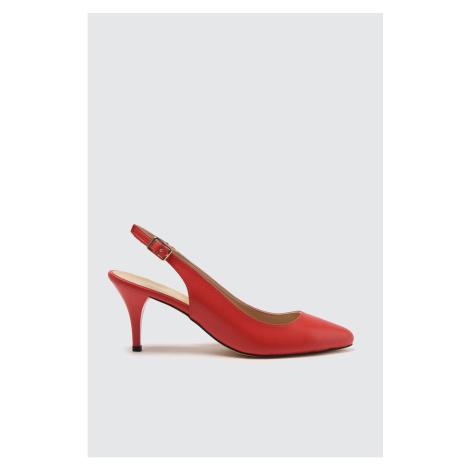 Trendyol Red Women's Classic Heels