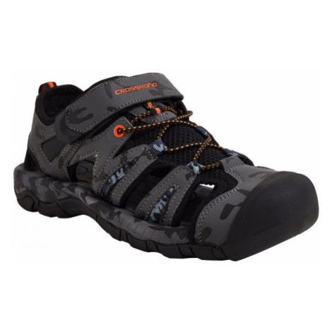 Crossroad MAOR šedá - Pánské sandály