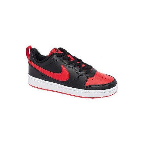 Černo-červené tenisky Nike Court Borough 2