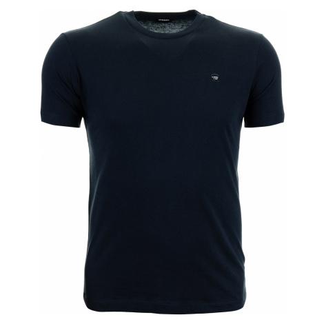 Pánské jednobarevné modré tričko Diesel
