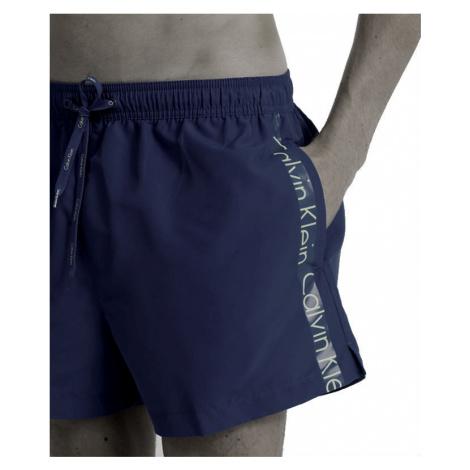 Pánské koupací šortky Calvin Klein KM00KM00162 | tmavě modrá