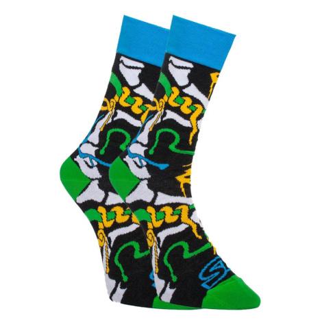 Veselé ponožky Styx vysoké jungle (H956)