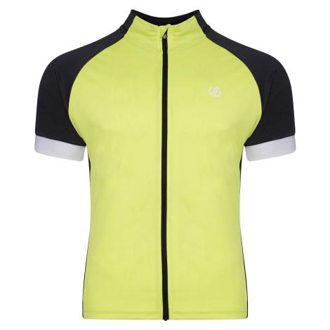 Pánský cyklistický dres Dare2b PROTRACTION černá/žlutá Dare 2b