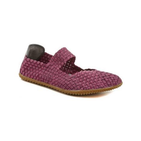 Rock Spring Free Mind fuchsia dámská gumičková obuv Fialová
