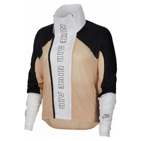 Dámská bunda Nike Air Béžová / Černá