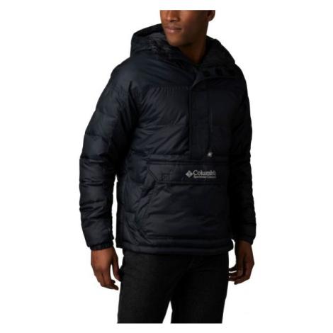 Columbia LODGE PULLOVER JACKET černá - Pánská zimní bunda