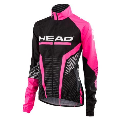Head LADY ANORAK TEAM černá - Dámská cyklistická bunda