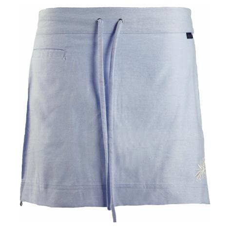 Letní funkční mini sukně SKHOOP Flora, blue denim