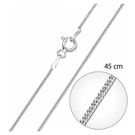 Evolution Group Stříbrný řetízek kulatý délka 45 cm 30015