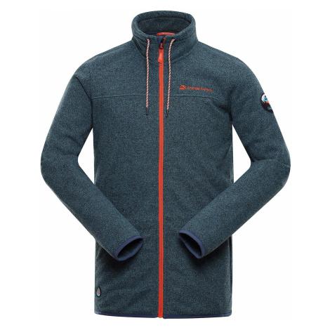Pánský svetr Alpine Pro HOB 3 - zeleno-šedá