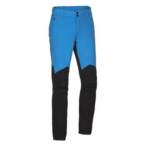 NORTHFINDER FUNEWO Pánské hybridní zateplené kalhoty NO-3551SNW271 černo-modrá