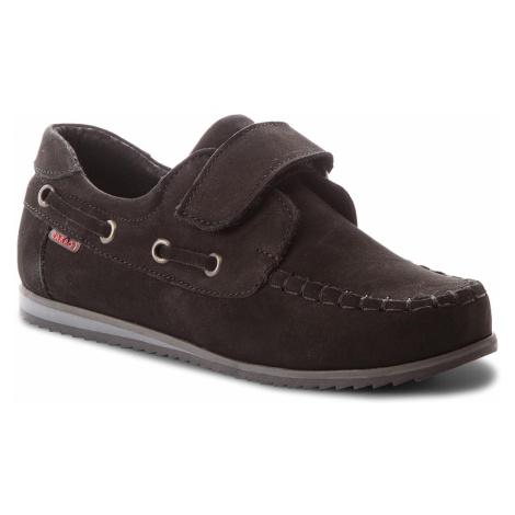 Mokasíny ZARRO - 2077/M S Czarny Nubuk Zarro obuv
