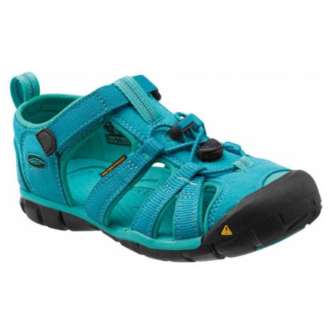 KEEN Seacamp II CNX Jr Dětské sandály KEN1201064011 baltic/caribbean sea