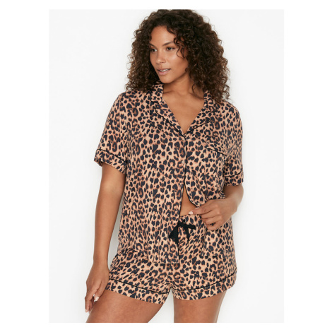VICTORIA'S SECRET letní pyžamo dámské / Classic Leopard