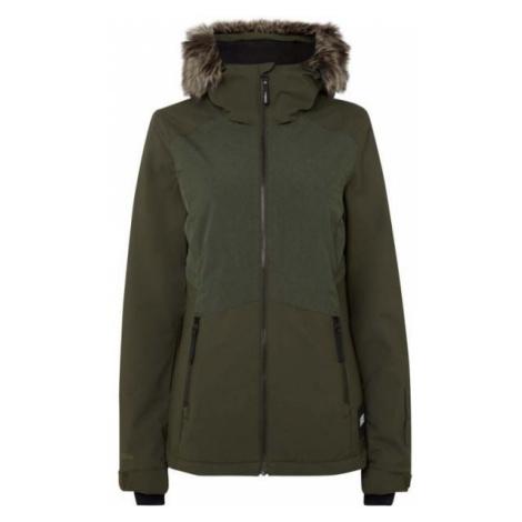 O'Neill PW HALITE JACKET tmavě zelená - Dámská lyžařská/snowboardová bunda