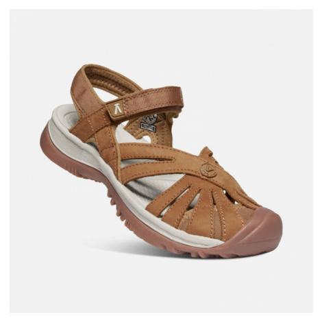 Dámské sandále Keen Rose Sandal Leather W tan