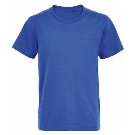 SOLS Dětské tričko MARTIN KIDS 03102241 Royal blue SOL'S