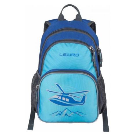 Lewro SCOUT modrá - Univerzální dětský batoh