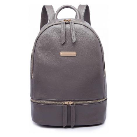 Šedý školní batoh
