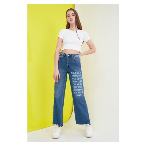 Trendyol High Waist 90's Wide Leg Jeans