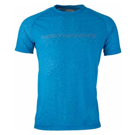 NORTHFINDER RASWAN Pánské funkční triko TR-33701SP281 modrá