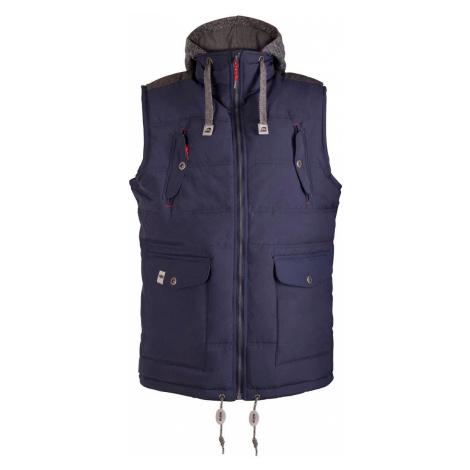 Pánská vesta Alpine Pro JARVIS - tmavě modrá