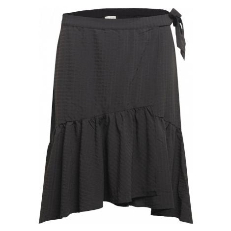KAFFE CURVE Sukně 'Josie' černá