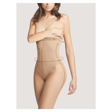 Dámské punčochové kalhoty Fiore Body Care High Waist Bikini M 5114 20 den light natural/odstín b
